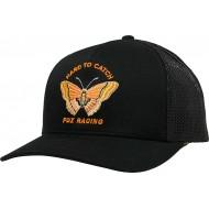 WOMEN FOX FLUTTER TRUCKER HAT BLACK COLOUR