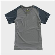 WOMEN HUSQVARNA ORIGIN TEE GREY COLOUR