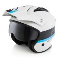 OFFER ACERBIS JET ARIA HELMET COLOR WHITE/BLACK