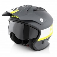 OUTLET CASCO ACERBIS JET ARIA COLOR NEGRO/AMARILLO