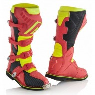 OUTLET BOTAS ACERBIS X-PRO V. COLOR ROJO/AMARILLO