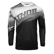 THOR SECTOR VAPOR JERSEY 2021 BLACK / WHITE COLOUR