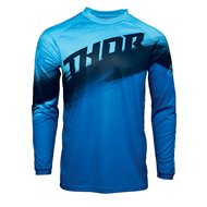 THOR SECTOR VAPOR JERSEY 2021 BLUE / MIDNIGHT COLOUR
