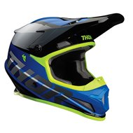 CASCO THOR SECTOR FADER 2021 COLOR AZUL / NEGRO / BLANCO
