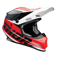 THOR SECTOR FADER HELMET 2021 RED / BLACK COLOUR