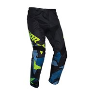 THOR YOUTH SECTOR WARSHIP PANT 2021 BLUE / ACID COLOUR