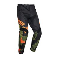 THOR YOUTH SECTOR WARSHIP PANT 2021 GREEN / ORANGE COLOUR