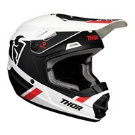 CASCO INFANTIL THOR SECTOR SPLIT 2020 COLOR BLANCO / NEGRO