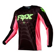 FOX 180 SPECIAL EDITION VENIN JERSEY 2020 BLACK COLOUR