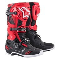 ALPINESTARS TECH 10 BOOTS 2021 RED / BLACK COLOUR