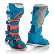 OFFER ACERBIS X-PRO V. BOOTS COLOR BLUE/ORANGE