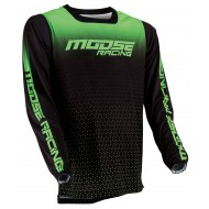 MOOSE M1 JERSEY 2021 LIME / BLACK COLOUR