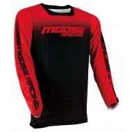 MOOSE M1 JERSEY 2021 RED / BLACK COLOUR