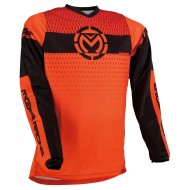 MOOSE QUALIFIER JERSEY 2021 ORANGE / BLACK COLOUR