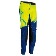 YOUTH MOOSE AGROID PANT 2021 NAVY / YELLOW / TEAL COLOUR