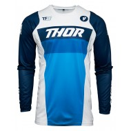 THOR PULSE RACER JERSEY 2021 WHITE / NAVY COLOUR