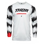 YOUTH THOR PULSE AIR RAD JERSEY 2021 WHITE / RED COLOUR