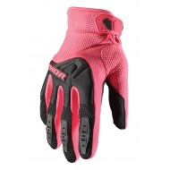 GUANTES MUJER THOR SPECTRUM 2021 COLOR NEGRO / ROSA