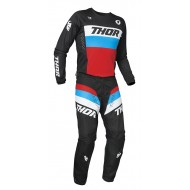 YOUTH COMBO THOR PULSE RACER 2021 BLACK / RED / BLUE COLOUR