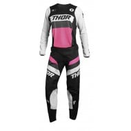 COMBO MUJER THOR PULSE RACER 2021 COLOR NEGRO / ROSA