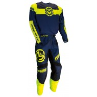 COMBO MOOSE QUALIFIER 2021 NAVY / YELLOW FLUO COLOUR