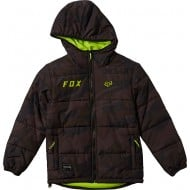 OUTLET CHAQUETA INFANTIL WASCO PUFFY COLOR NEGRO CAMUFLAJE