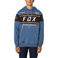 OFFER FOX OFFICIAL PULLOVER FLEECE BLUE STEEL COLOUR