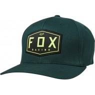 FOX CREST FLEXFIT HAT EMERALD COLOUR