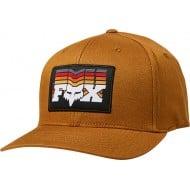 FOX OFF BEAT FLEXFIT HAT BRONZE COLOUR