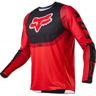 FOX 360 VOKE JERSEY 2021 FLUO RED COLOUR
