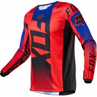 FOX 180 OKTIV JERSEY 2021 FLUO RED COLOUR
