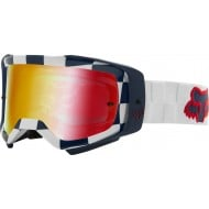 GAFAS FOX AIRSPACE AFTERBURN 2021 COLOR BLANCO - LENTE ESPEJO
