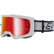GAFAS FOX MAIN BARREN 2021 COLOR BLANCO - LENTE ESPEJO