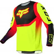 FOX YOUTH 360 VOKE JERSEY 2021 FLUO YELLOW COLOUR