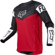 FOX YOUTH 180 REVN JERSEY 2021 FLAME RED COLOUR