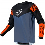 FOX YOUTH 180 REVN JERSEY 2021 BLUE STEEL COLOUR