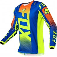FOX YOUTH 180 OKTIV JERSEY 2021 BLUE COLOUR