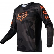 CAMISETA FOX 180 TREV 2021 COLOR NEGRO CAMUFLAJE
