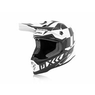 ACERBIS STEEL KID HELMET 2020 WHITE BLACK