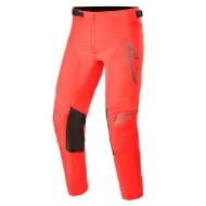 ALPINESTARS YOUTH RACER COMPASS PANT 2021 RED FLUO / ANTHRACITE COLOUR