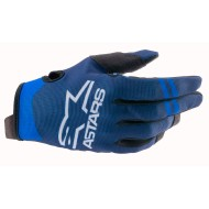 ALPINESTARS RADAR GLOVES 2021 DARK BLUE / BLUE COLOUR