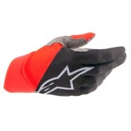 ALPINESTARS DUNE GLOVES 2021 BLACK / BRIGHT RED COLOUR