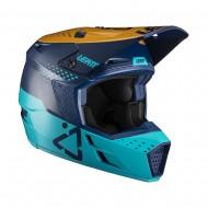 LEATT MOTO 3.5 V21.4 HELMET 2021 BLUE COLOUR
