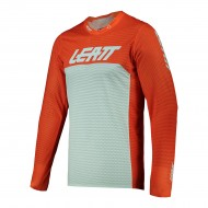 CAMISETA LEATT MOTO 5.5 ULTRAWELD 2021 COLOR NARANJA