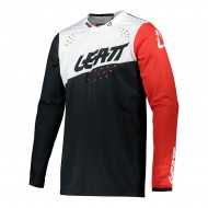 CAMISETA LEATT MOTO 4.5 LITE 2021 COLOR NEGRO / BLANCO