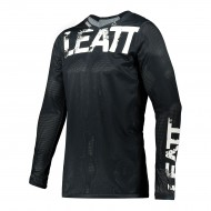 CAMISETA LEATT MOTO 4.5 X-FLOW 2021 COLOR NEGRO