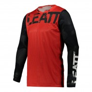 CAMISETA INFANTIL LEATT MOTO 3.5 2021 COLOR ROJO