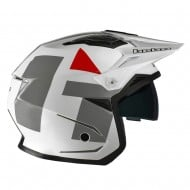 CASCO HEBO TRIAL ZONE 5 H-TYPE 2021 COLOR BLANCO