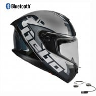 CASCO INTEGRAL HEBO FACE BLUETOOTH 2021 COLOR GRIS
