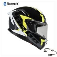 CASCO INTEGRAL HEBO FACE BLUETOOTH 2021 COLOR NEGRO